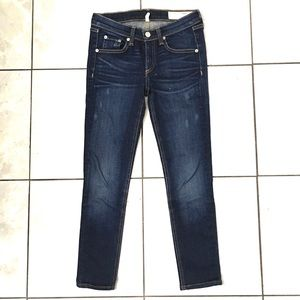 Rag & Bone Keningston Womans Cropped Jeans